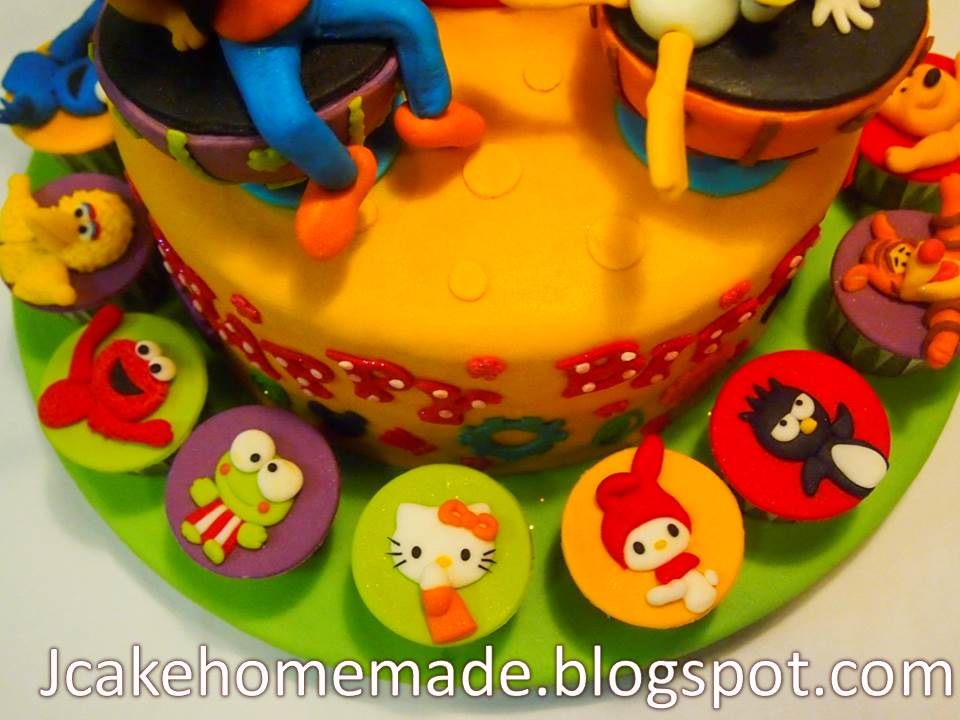 Jcakehomemade Mickey Mouse Clubhouse Cake And Cartoon