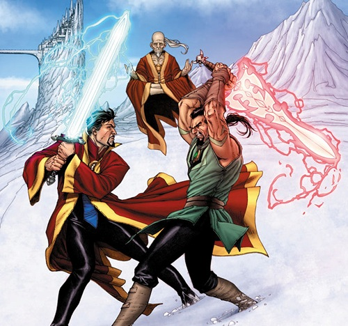 What's on my Mind: Intro to Comics: Sorcerer Supreme (Upgrade)