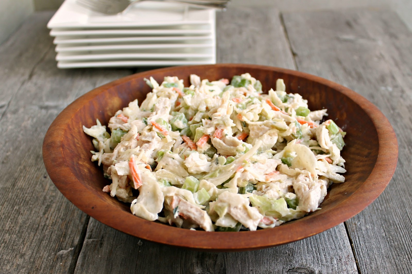 Hungry Couple: Tarragon Chicken Salad Slaw