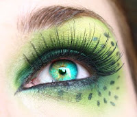 green makeup looks