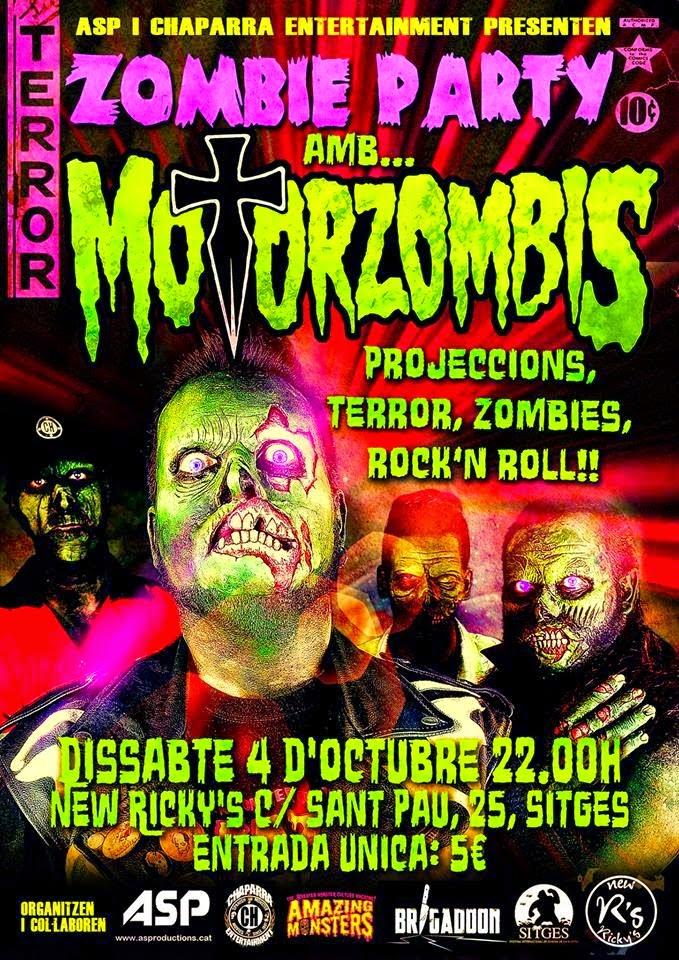 Zombie Party amb MotorZombis