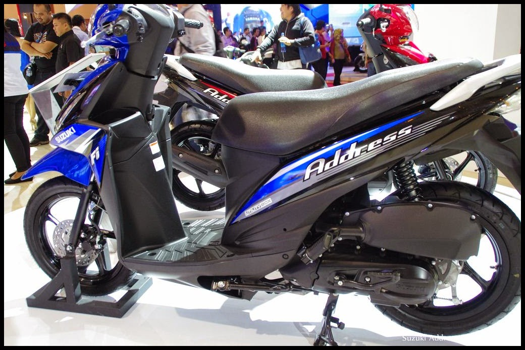 Address Motor Matic Baru dari Suzuki