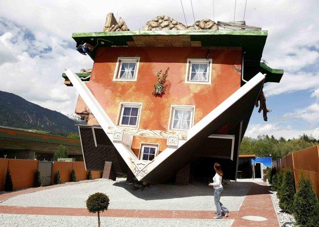 Casa contrário Terfens Áustria