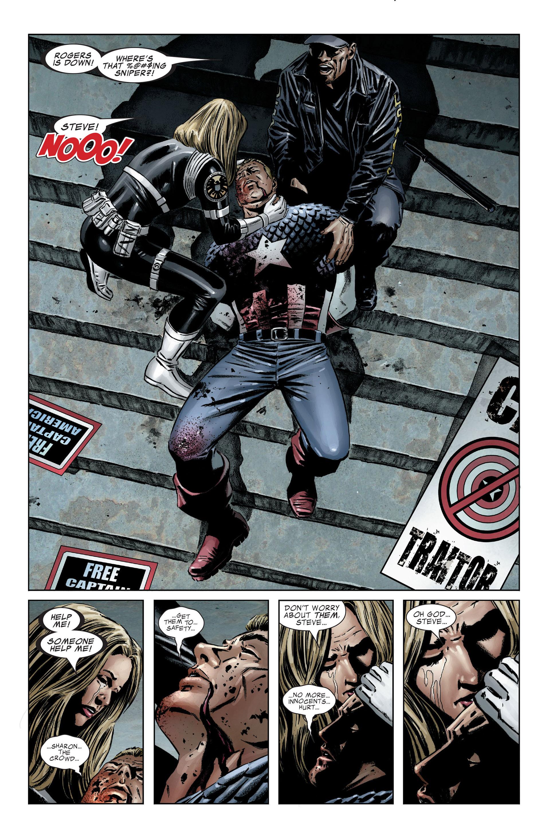 Captain America (2005) Issue #25 #25 - English 18