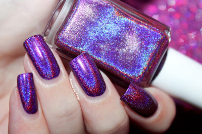 """Swatch of """"Berry Good Looking"""" from Cupcake Polish"""