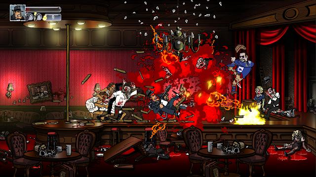 Los gángsters y zombies de Guns, Gore & Cannoli en diciembre para PS4