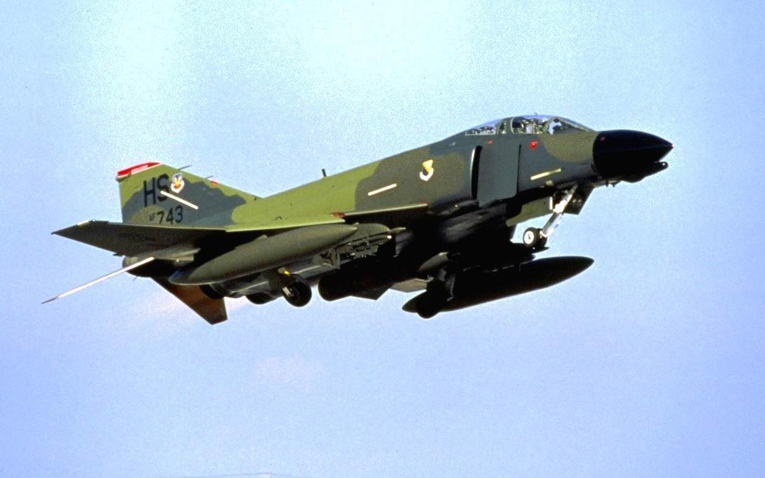 F-4 Phantom II Fighter Jet Wallpaper 3