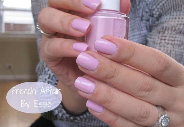 essie french affair nailpolish swatch