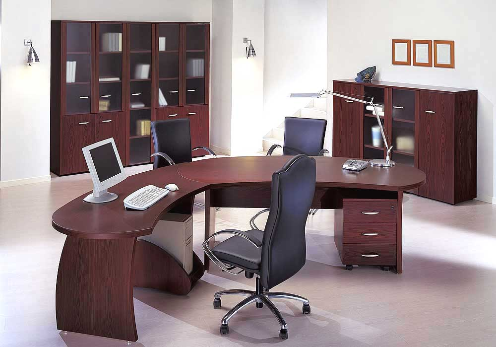 Executive office designs interior design and deco for Office room decoration ideas