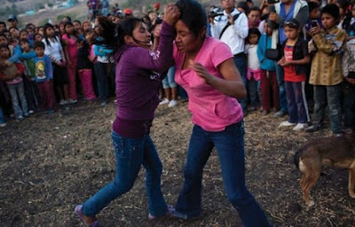 The Mexican Town Where Women Engage in Bloody Fist Fights to Call the Rain