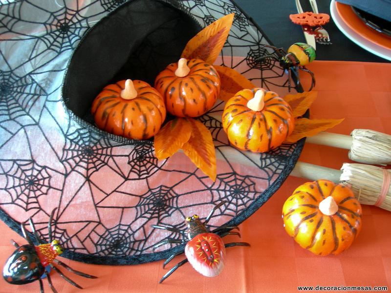Decoracion de mesas mesa de halloween - Decoracion mesa halloween ...