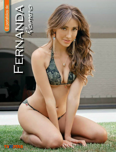 FOTOS: Fernanda Romero - Revista TvNotas - Mayo 2015