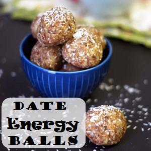 Date Energy Balls Recipe