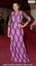 Omotola Shines At London premier