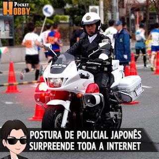 Pocket Hobby - www.pockethobby.com - Surpreendente Postura de Policial Japonês Divide a Internet