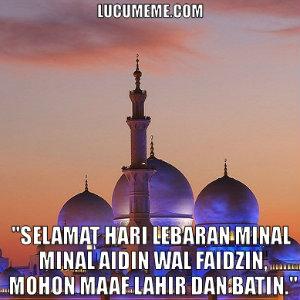 DP BBM Selamat Idul Fitri