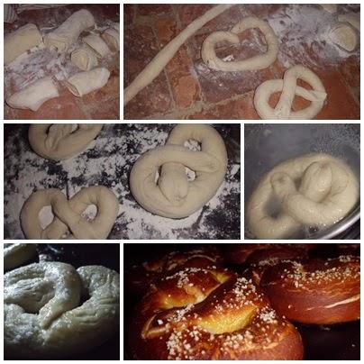 pretzels paso a paso