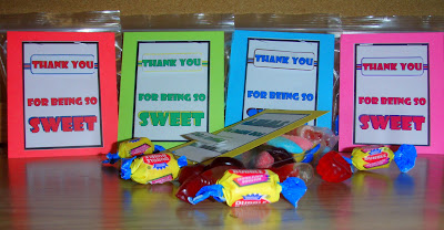 gifts for students, candy bag cards, end of the year presents for students, treat bags, goodie bags for kids