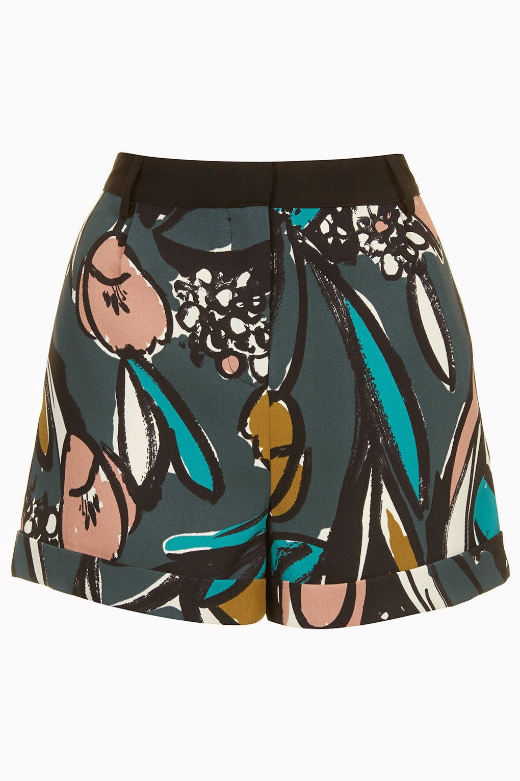 topshop flower shorts,
