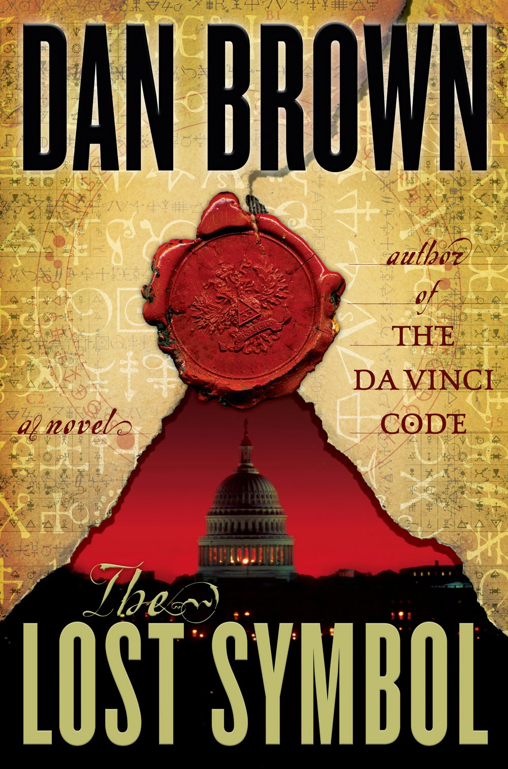 Does Dan Brown use rhetorical questions in any of his books?