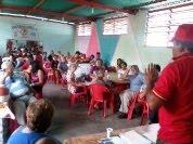 Asamblea de voceros del CFG en Comunidad Barrio Unión