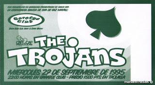 entrada de concierto de the trojans