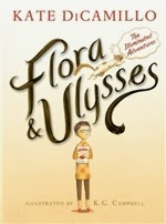cover of Flora and Ulysses Kate DiCamillo.