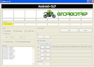 Cara Upgrade Samsung Galaxy Pocket S5300 ke S5300DXLF2 Android 2.3.6