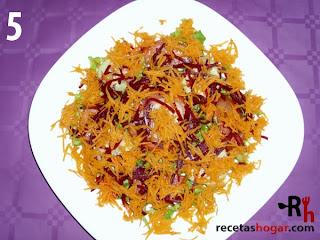 Recetas de cocina: Ensalada mediterránea - Paso 5