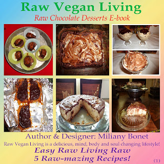 My First Free Raw Desserts E-book! Click on the image to see my books!