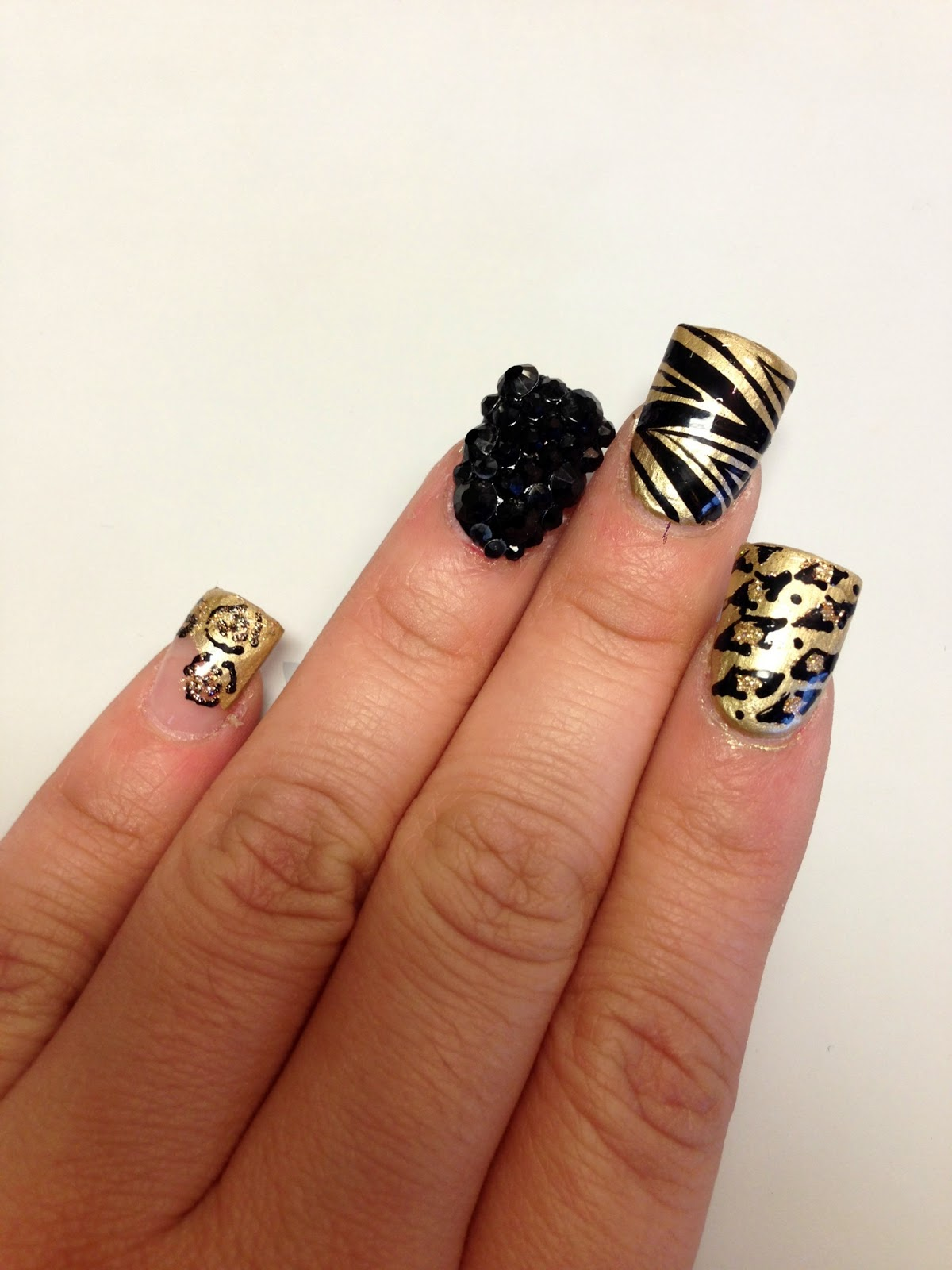 """These nails were done in Ontario at a nail salon named """"Blue diamond nails"""" check it out :) prices are awesome! I will say that i wish they took there time ..."""