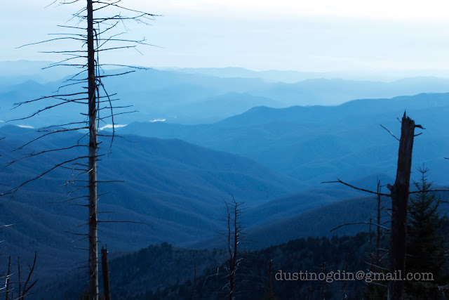 Clingman's Dome, great smoky mountain natural park