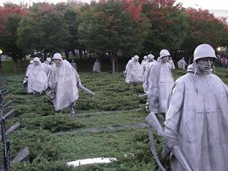 Monumento a los caidos de Corea en Washington