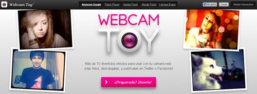 Webcam Toy, mas de 70 efectos muy divertidos para tus fotografías
