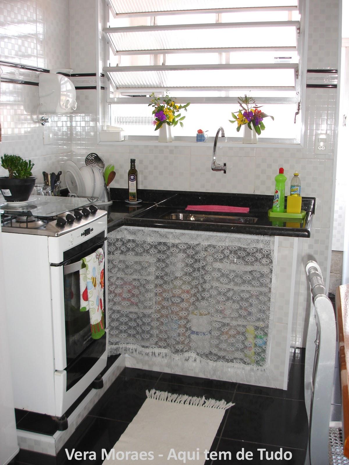 Azulejos Para Cozinha Pequena Cozinha Azul E Branca Azulejo