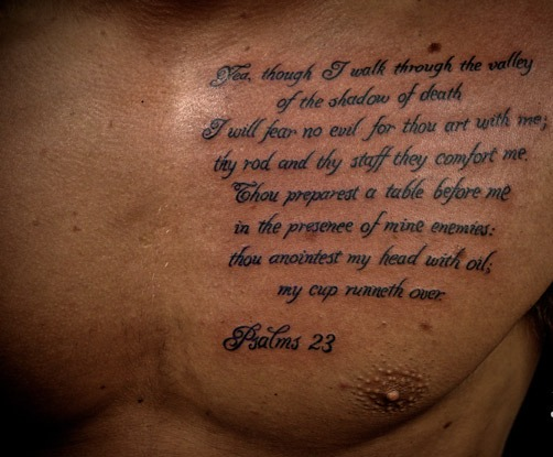 Scripture tattoos designs for Best bible verses for tattoos