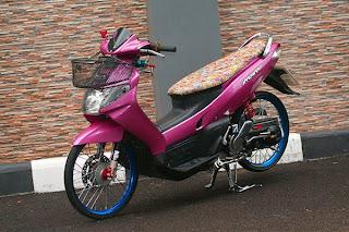 Modifikasi Yamaha Nouvo Retro