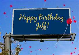 Happy Birthday Jeff Cakes