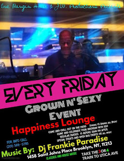 #FrankieFridays at HAPPY LOUNGE 1458 ST JOHNS PLACE BET UTICA & ROCHESTER AVE