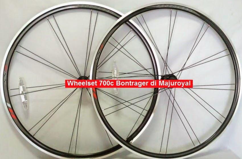 wheelset 700c bontrager