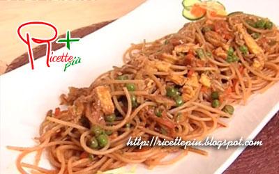 Spaghetti di Riso con Verdure di Cotto e Mangiato