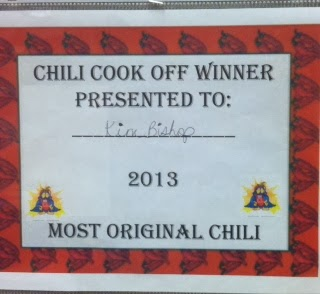 Most Unusual Chili