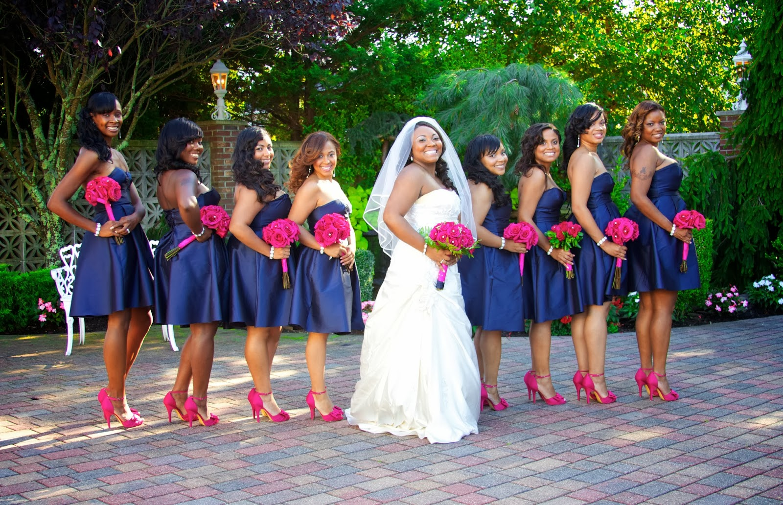 Curls in Brooklyn: MY SISTER-IN-LAW\'S Beautiful Wedding