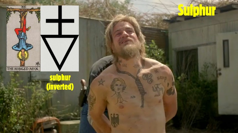 Sulphur symbol meaning gallery free symbol design online for True detective tattoo