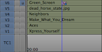 Using up to six tracks form the Media Composer timeline for an Avid FX composite.