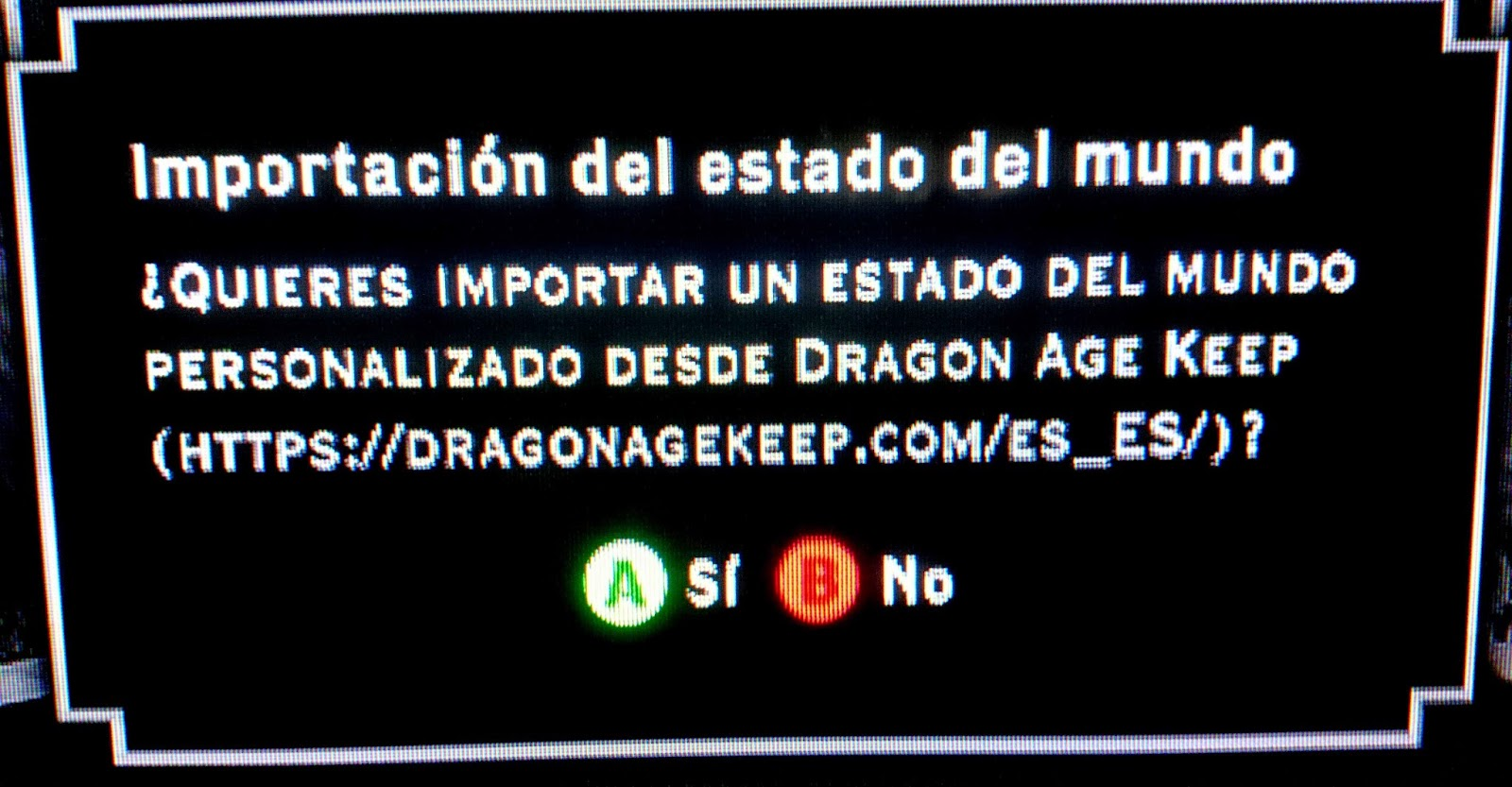 demo dragon age inquisition importar partida keep