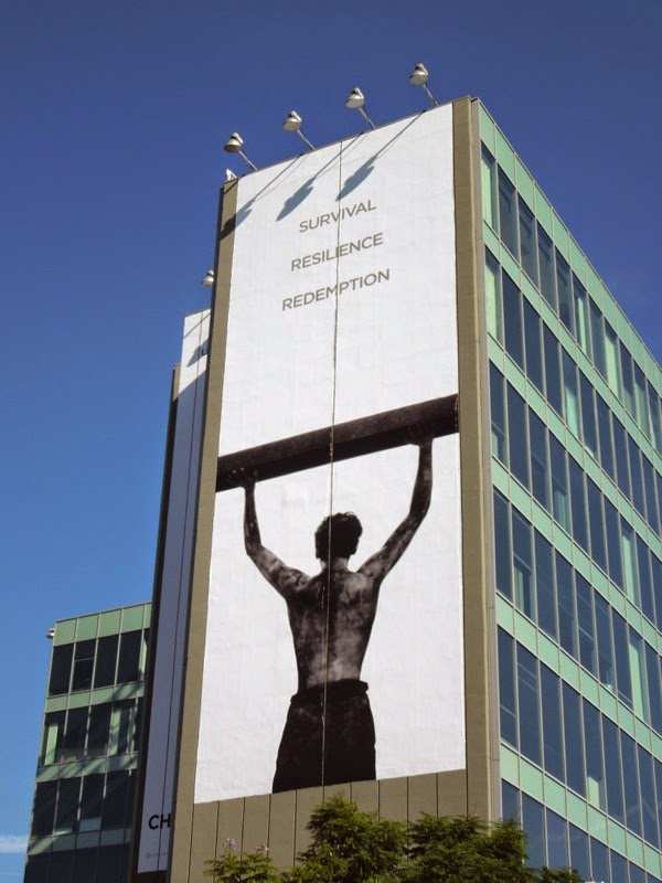 Giant Unbroken film billboard