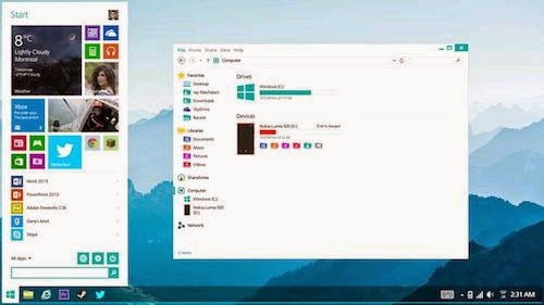 Bản dùng thử Windows 9 có thể cho tải về tháng sau