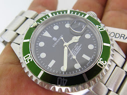 STEINHART OCEAN ONE KERMIT FLAT FOUR DIVER 1000ft / 300m - AUTOMATIC