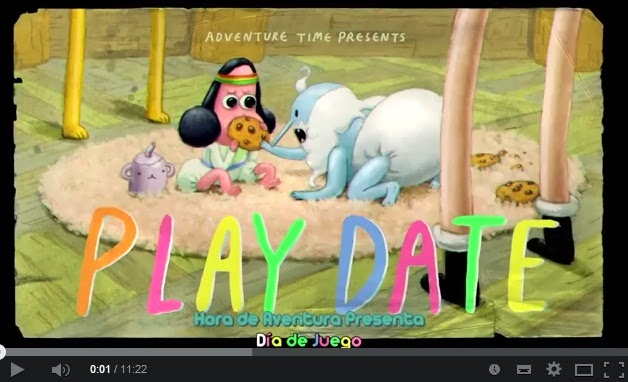 Hora de Aventura Play Date Adventure time sub español youtube